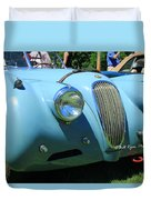 1954 Jaguar Xk Duvet Cover