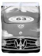 1954 Maserati A6 Gcs -0255bw Duvet Cover