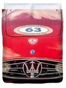 1954 Maserati A6 Gcs Grille -0255c Duvet Cover