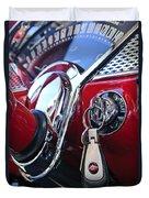 1955 Chevrolet 210 Key Ring Duvet Cover