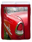 1955 Chevrolet Bel Air Tail Light Duvet Cover