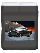 1955 Chevrolet Coupe 'sinister Chevy' Duvet Cover