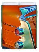 1955 Dodge Coronet Tail Light Emblem -0086c Duvet Cover