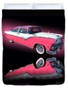1955 Ford Fairlane Crown Victoria Duvet Cover