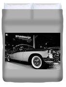 1955 Studebaker President Speedster Duvet Cover