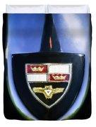 1955 Studebaker President Speedster Emblem -0496c45 Duvet Cover