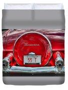1955 Thunderbird Duvet Cover