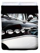 1956 Buick Century Profile 1 Duvet Cover