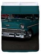 1956 Chevy 210 Duvet Cover