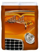 1956 Chrysler Custom 2 Door Sport Wagon Duvet Cover