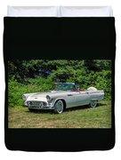 1956 Ford Thunderbird Duvet Cover
