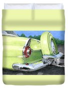 1956 Ford Thunderbird Duvet Cover