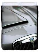 1956 Lancia Aurelia B24 Convertible Hood Emblem Duvet Cover