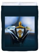 1956 Lincoln Hood Ornament Duvet Cover