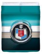 1956 Mercury Monterey Emblem Duvet Cover