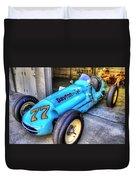 1956 Schroeder Roadster #77 Duvet Cover