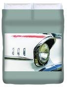 1957 Chevy 210  Duvet Cover