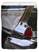 1957 Chevy Bel-air Duvet Cover