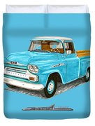 Apache Pick Up Truck Duvet Cover