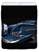 1958 Chevrolet Bel Air Impala Duvet Cover