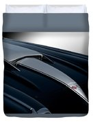 1958 Corvette 'big Block' Hood Duvet Cover
