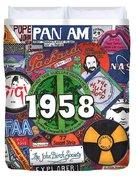 1958 Duvet Cover