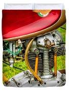 1958 Ducati 175 F3 Race Motorcycle -2119c Duvet Cover