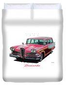 1958 Edsel Bermuda Duvet Cover