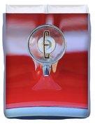 1958 Edsel Ranger Hood Ornament 2 Duvet Cover