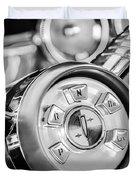 1958 Edsel Ranger Push Button Transmission 2 Duvet Cover