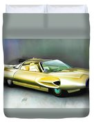 1958 Ford Automobile Duvet Cover