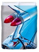 1959 Cadillac Eldorado 62 Series Taillight Duvet Cover