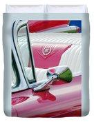 1959 Cadillac Eldorado Interior Duvet Cover