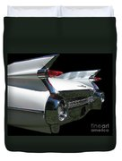1959 Cadillac Tail Duvet Cover