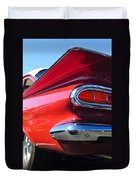 1959 Chevrolet Biscayne Taillight Duvet Cover