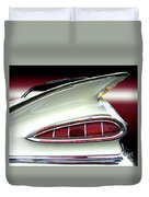 1959 Chevrolet Impala Tail Duvet Cover