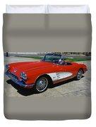 1959 Corvette Duvet Cover