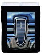 1959 Edsel Villager Grille Duvet Cover