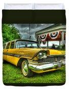 1959 Plymouth Suburban Sport 001 Duvet Cover
