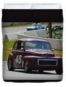 1959 Volvo 544 Duvet Cover