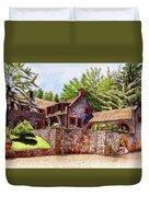 #196 Bourn Cottage Duvet Cover