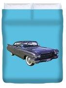 1960 Cadillac - Classic Luxury Car Duvet Cover