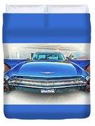1960 Cadillac - Vignette Duvet Cover