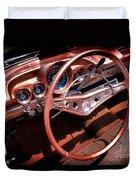 1960 Chevrolet Impala Convertible Duvet Cover