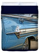 1960 Chevy Impala Duvet Cover