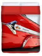 1960 Chevy Impala Low Rider Duvet Cover