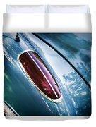 1960 Corvette Taillight Duvet Cover