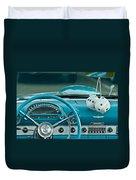 1960 Ford Thunderbird Dash Duvet Cover