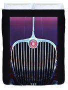 1960 Jaguar Xk150 Roadster 2 Duvet Cover