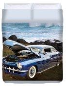 1951 Mercury Classic Car Photograph 005.02 Duvet Cover